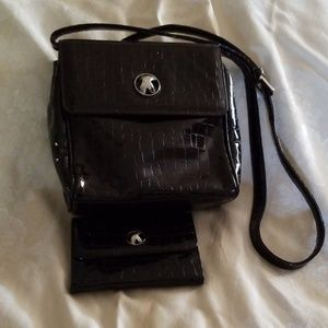 Paloma Picasso bag and wallet.